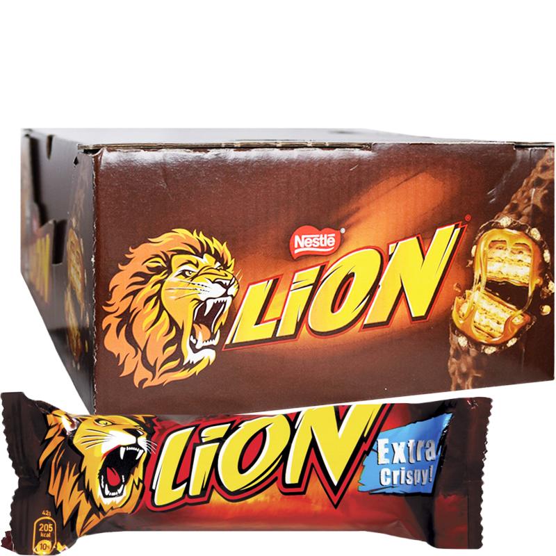 Godisbar Lion 24-pack - 40% rabatt