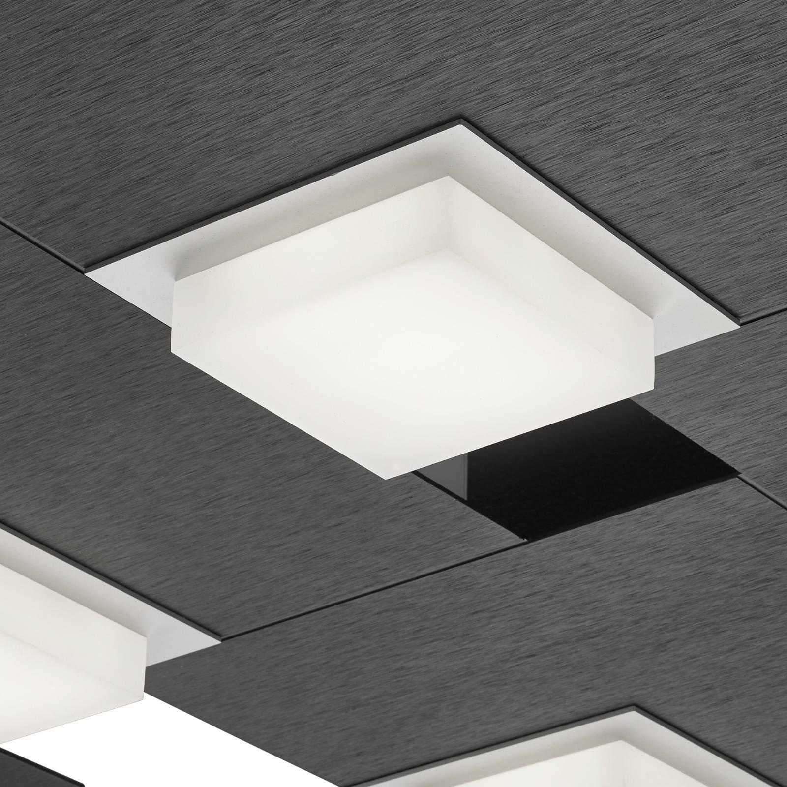 BANKAMP Quadro LED-taklampe 64 W antrasitt