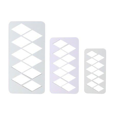 Geometrisk Multikutter Diamant 3 stk