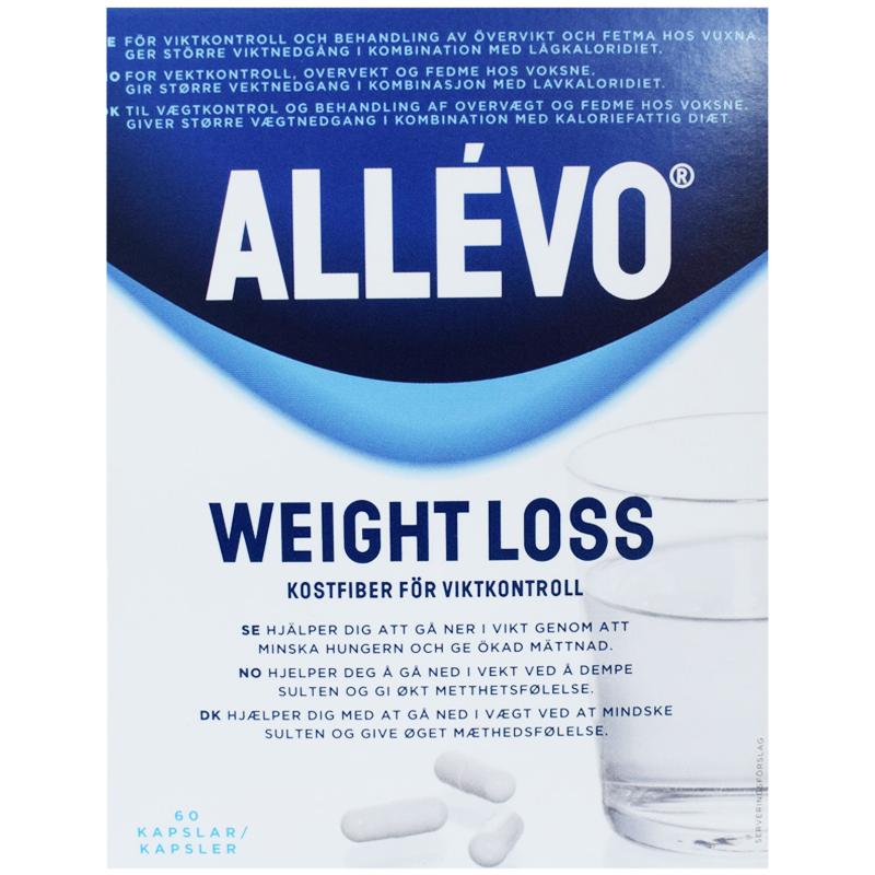 """Kosttillskott """"Weight Loss"""" Kostfiber 60-pack - 55% rabatt"""