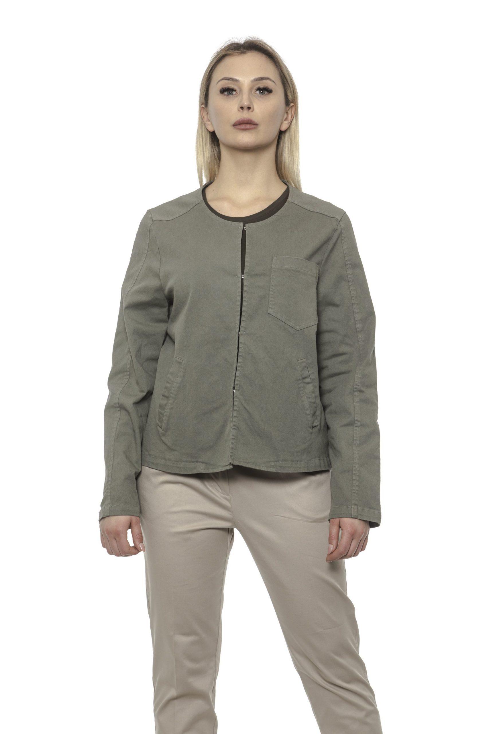 Alpha Studio Women's Oliva Blazer Green AL1374823 - IT40 | XS