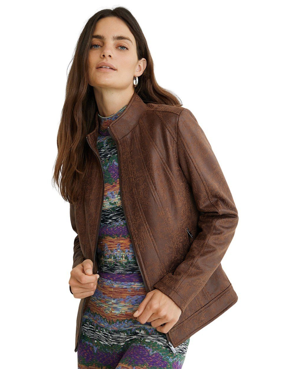 Desigual Women's Blazer Various Colours 305110 - brown 44