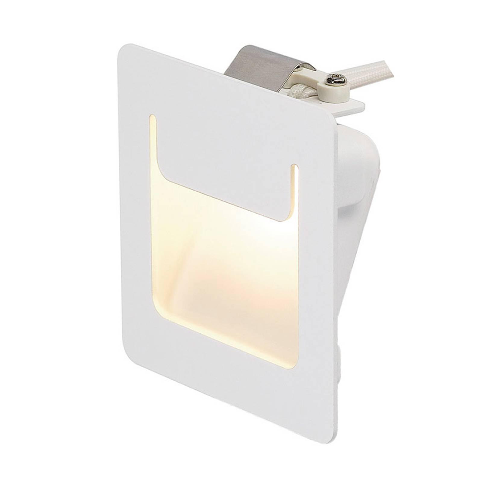 SLV-LED-uppovalo Downunder Pur 80 LED valkoinen