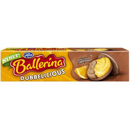 Ballerina Mjölkchoklad & Apelsin 185g - 41% rabatt