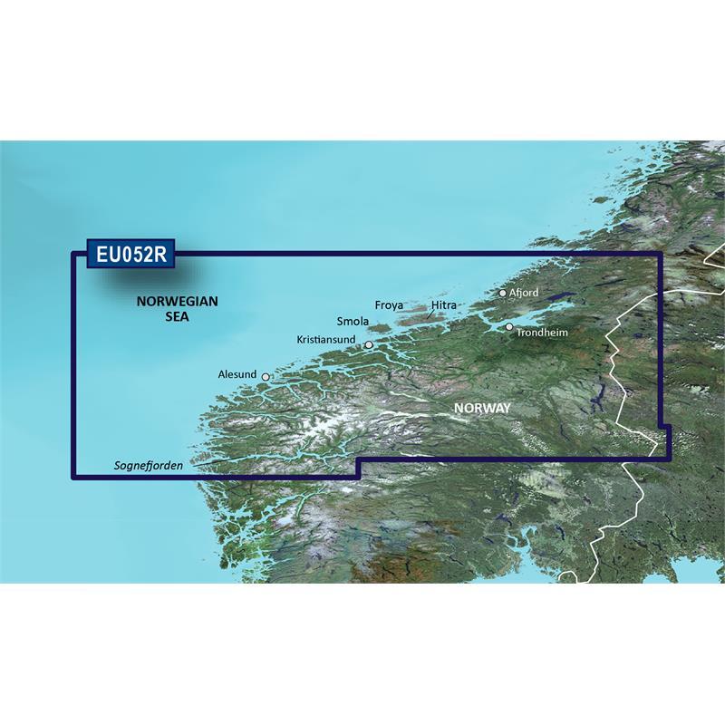 Garmin BlueChart® G3 Vision HXEU052R-Sognefjorden - Svefjorden