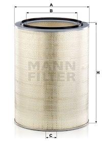 Ilmansuodatin MANN-FILTER C 45 3265 x