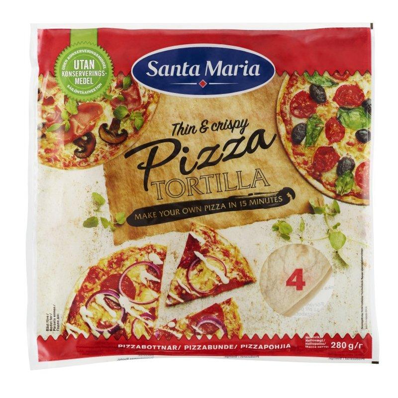 Pizza Tortilla 280g - 37% alennus