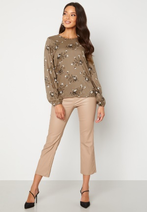 Happy Holly Cecilia blouse Mole / Patterned 32/34