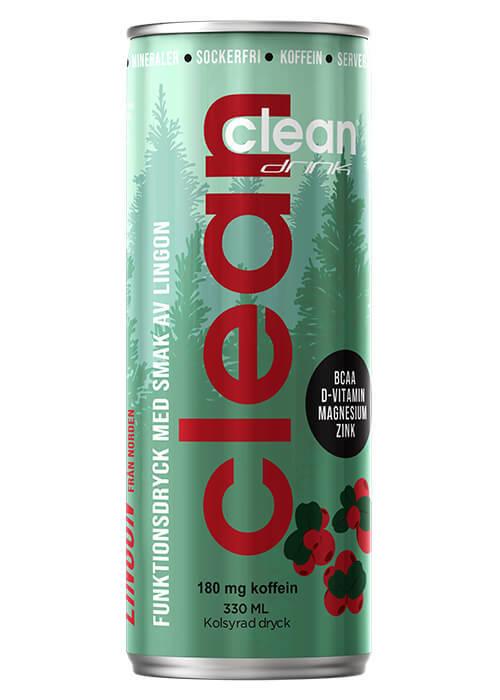 Clean Drink Lingon 33cl