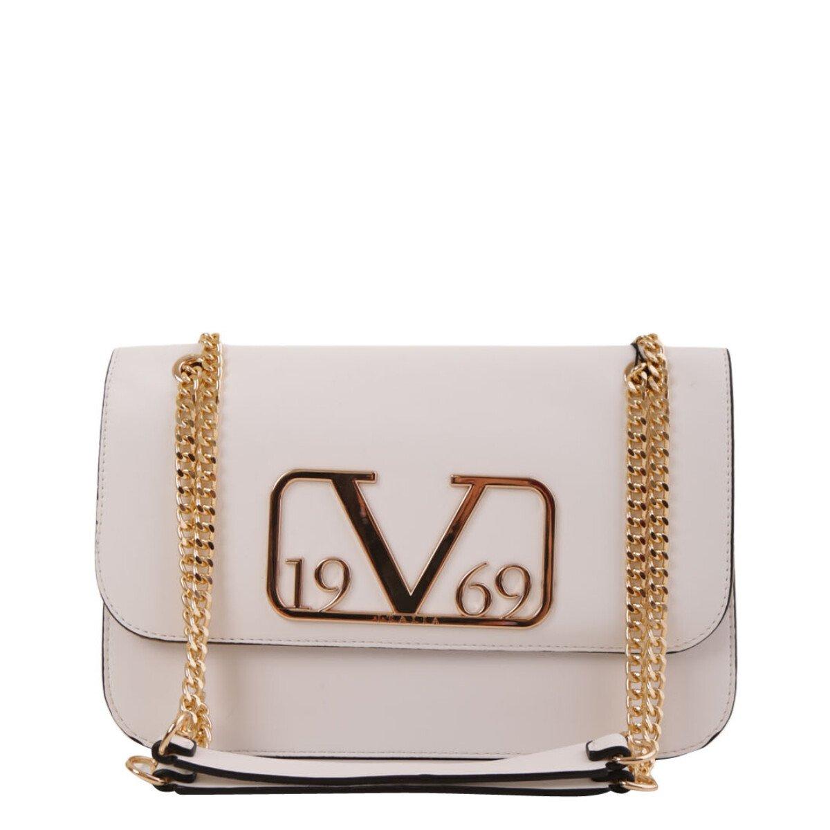 19v69 Italia Women's Handbag Various Colours 318965 - white UNICA