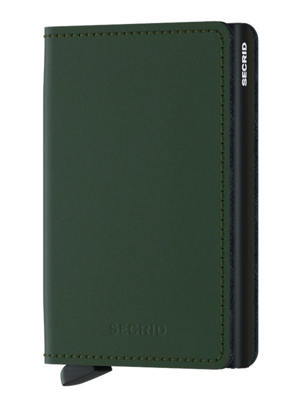 Secrid Slimwallet Matte Green-Black SM-Green-Black
