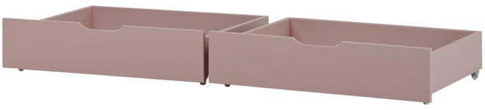 Hoppekids Sängynaluslaatikot IDA-MARIE 2-pack, Pale Rose