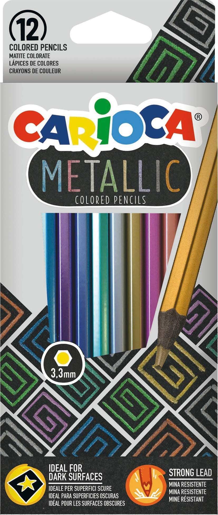 Carioca Metallic Färgpennor