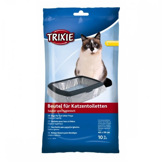 Trixie Kattlådspåsar 10-pack (L)