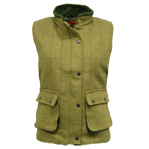 Game Technical Apparel Women's Jacket Various Colours Tweed Gilet - Fife 8