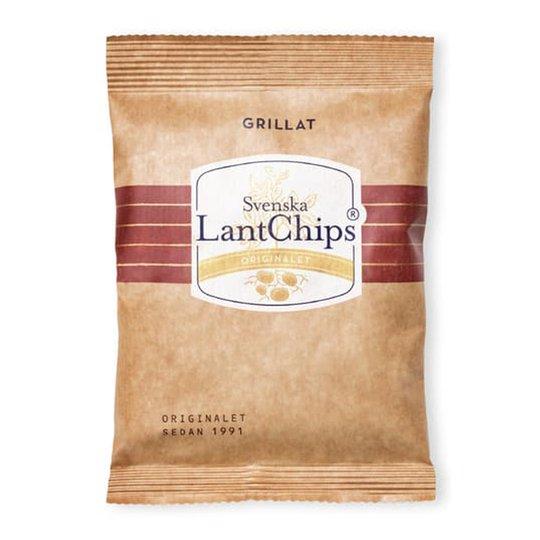 Lantchips Grillat - 29% rabatt