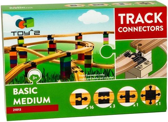 Toy2 Track Connectors Medium Basic Pack