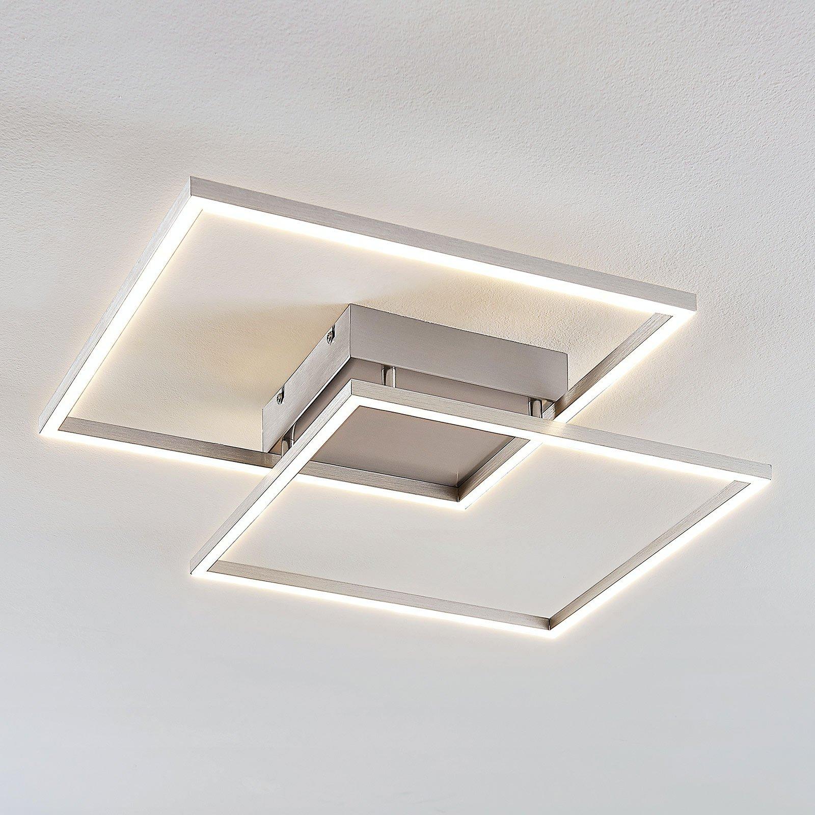 Interessant formet LED-taklampe Mirac