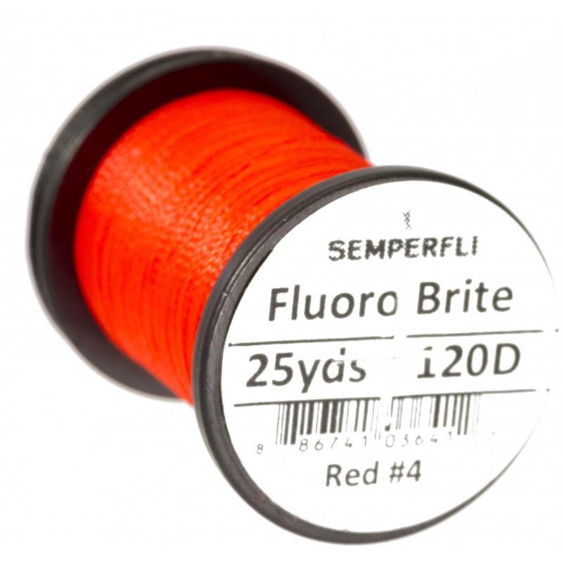 Semperfli Fluoro Brite Red