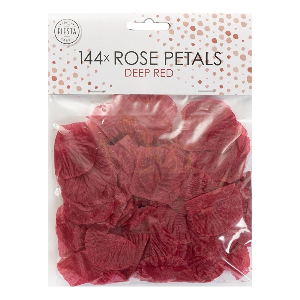 Rosenblad Mörkröd - 144-pack