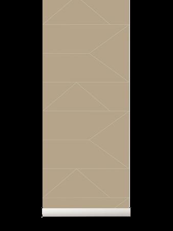 Lines Tapet Cashmere