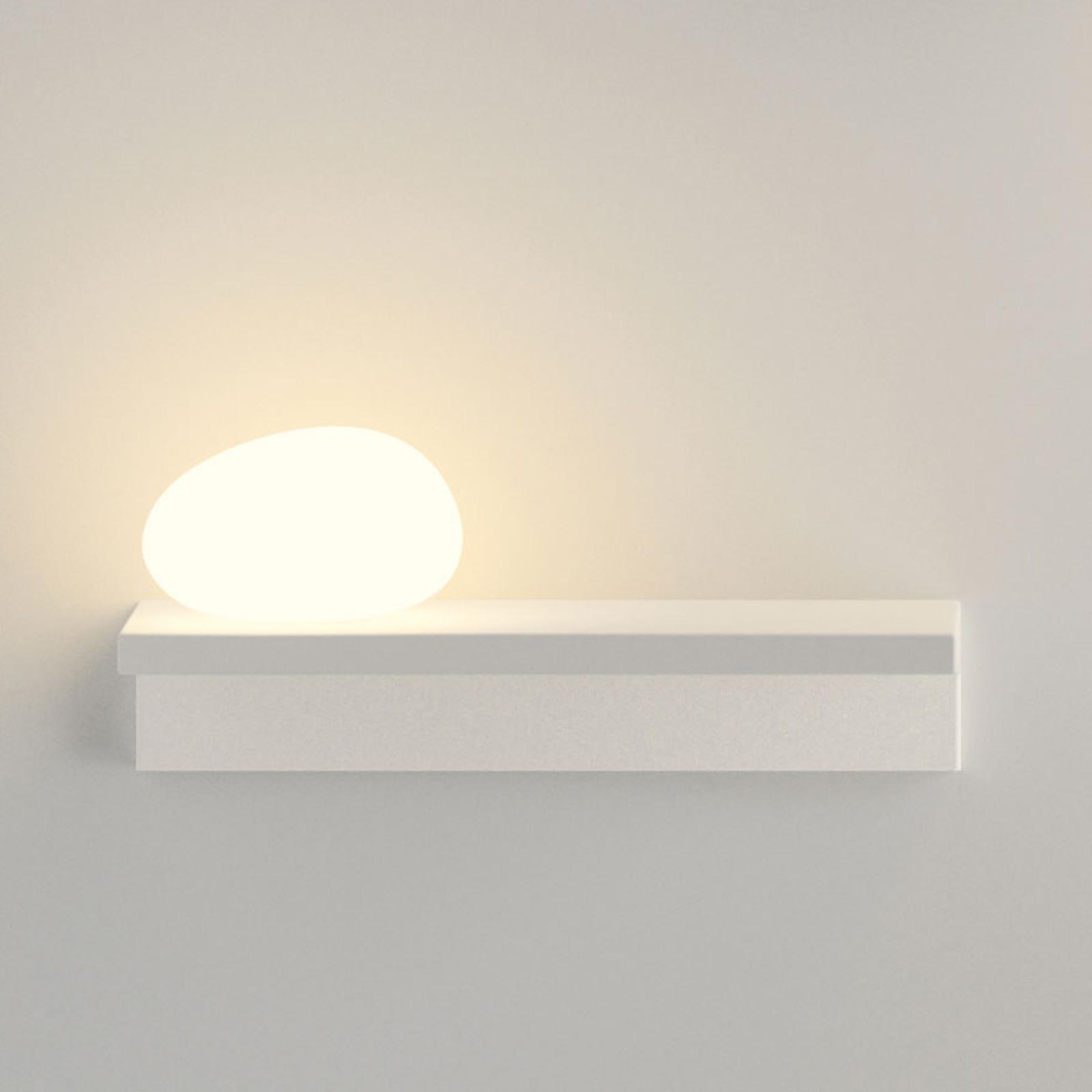 LED-seinävalaisin Suite 14 cm kivi vas.