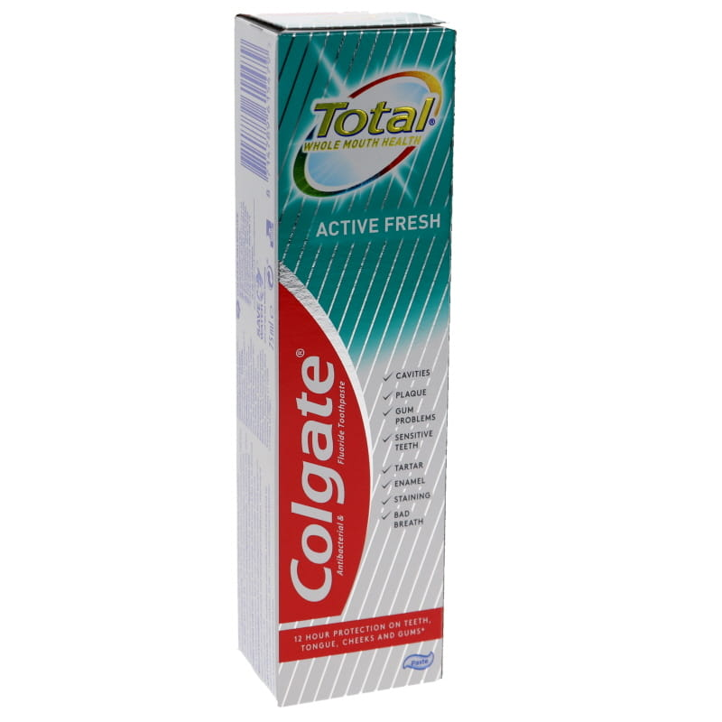 Tandkräm Total Active Fresh - 34% rabatt
