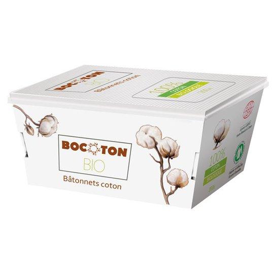Bocoton Ekologiska Bomullstops, 200 st