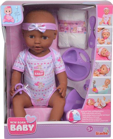 Simba Toys Dukke Nyfødt 43 cm + Tilbehør