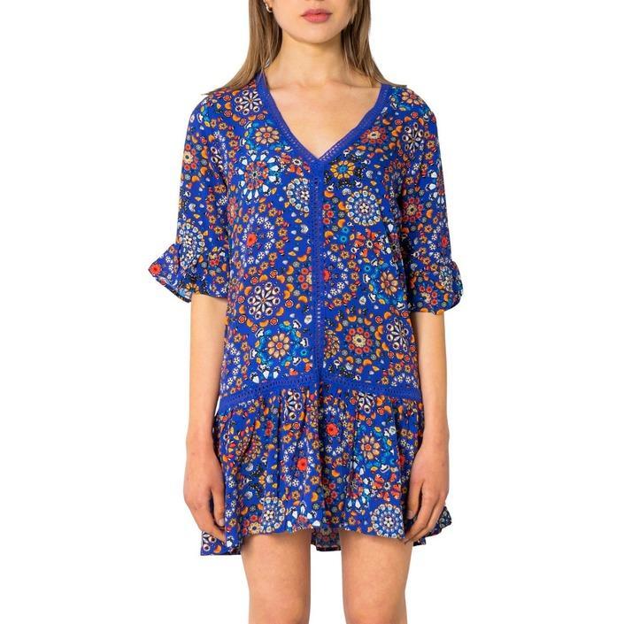 Desigual Women's Dress Various Colours 243271 - blue S