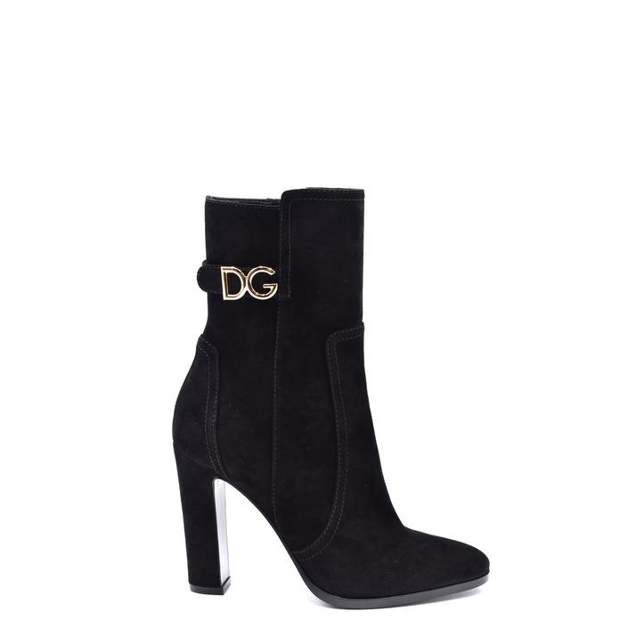 Dolce & Gabbana Women's Boots Black 237769 - black 36