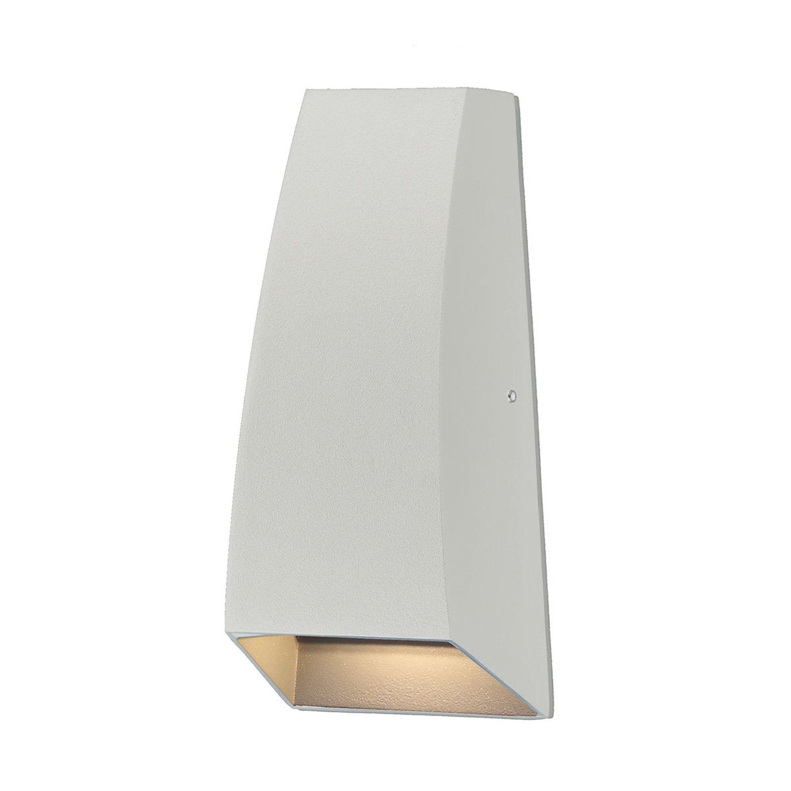 Jackson utendørs LED-vegglampe, hvit