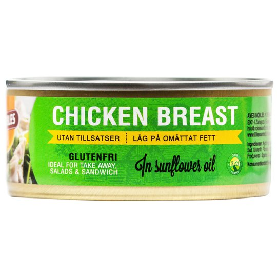 "Kycklingbröst ""Olja"" 155g - 26% rabatt"