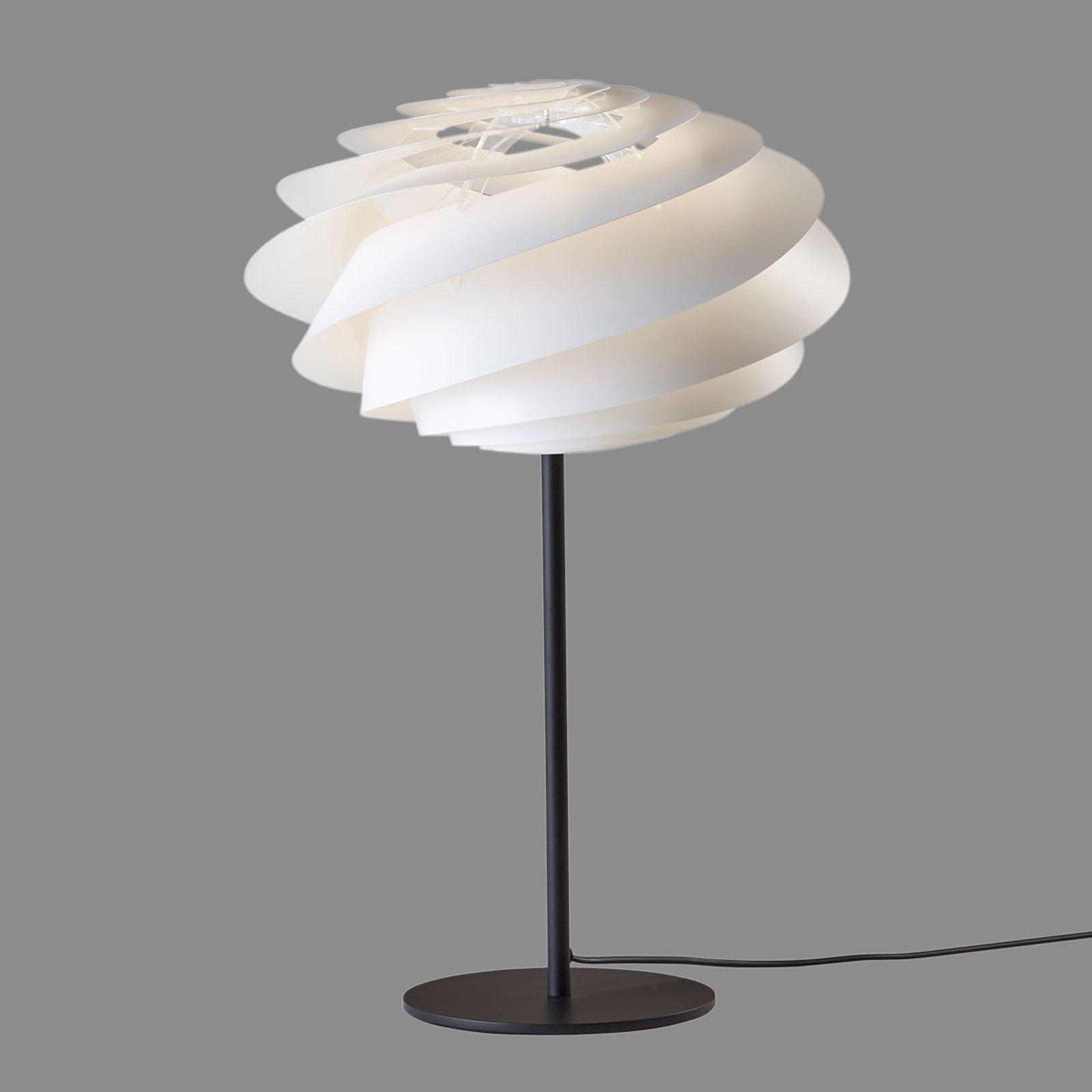 LE KLINT Swirl - hvit designer-bordlampe
