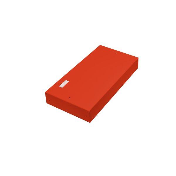 Alarmtech 3205.03R Kytkentärasia avoin, merkintälaatalle 5 moduulille