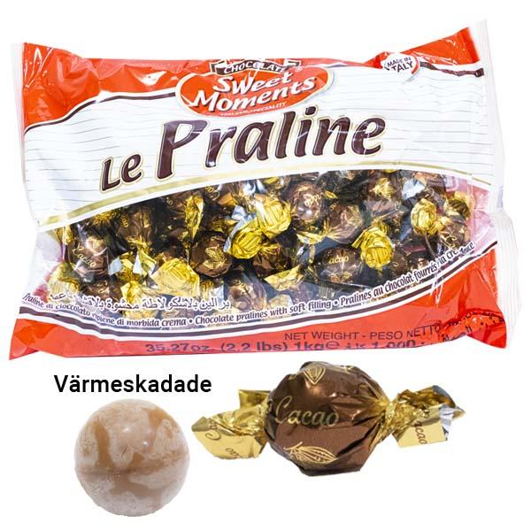 Värmeskadad Chokladpralin 1 kg