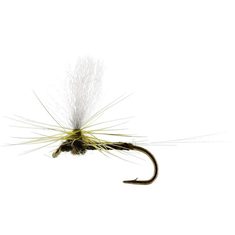 Baetis Dun Quill Olive #18 TMC100