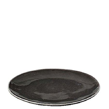 Middagstallerken Nordic Coal Ø 26 cm