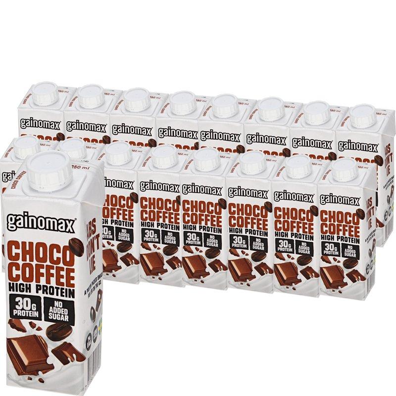"Laatikollinen Proteiinijuomia ""Choco Coffee"" 16 x 250ml - 64% alennus"