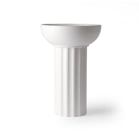White Ceramic Vase Greek A