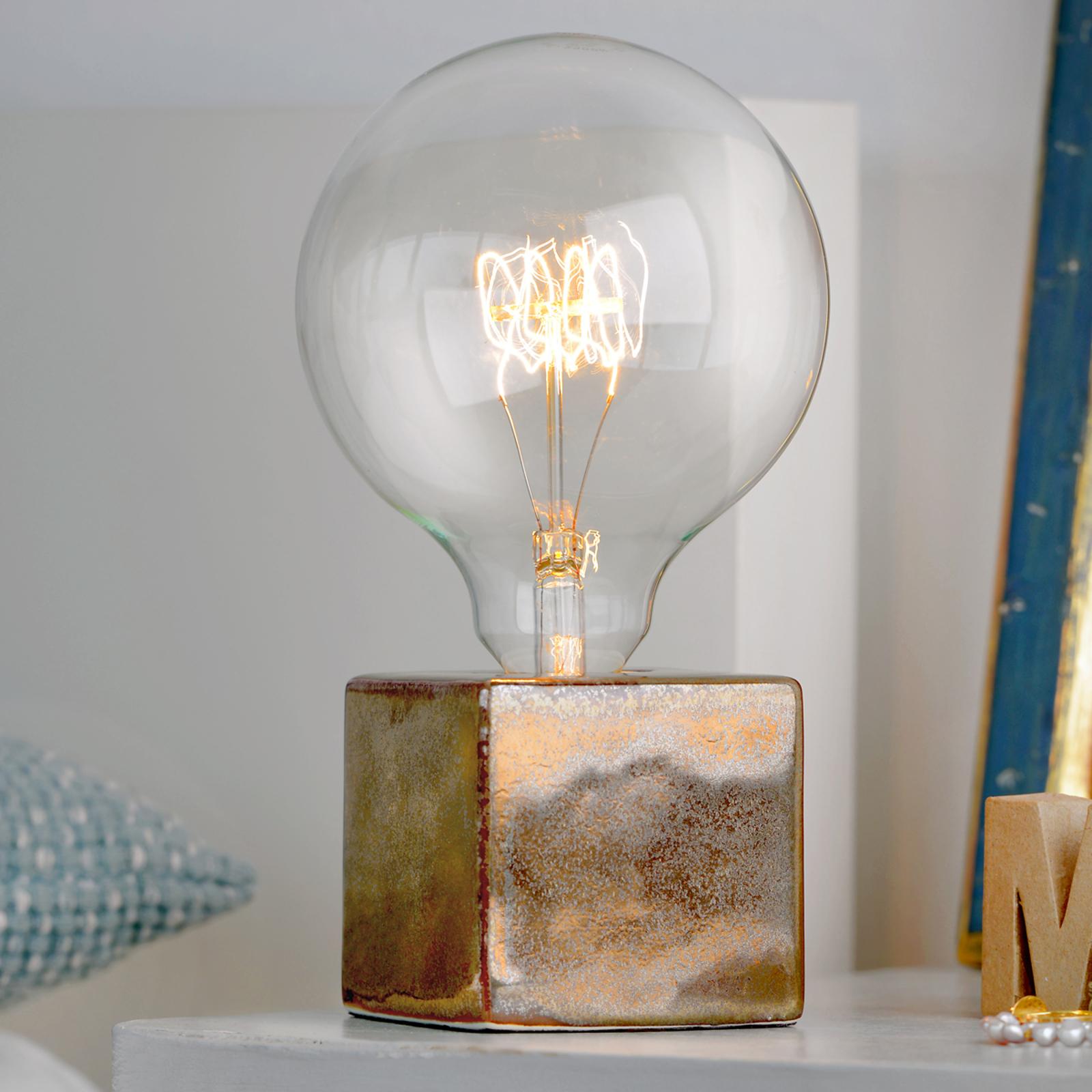 Villeroy & Boch Helsinki - pöytälamppu pronssi