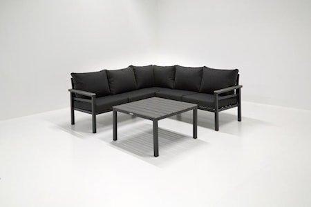 Brest Sofagruppe Hjørnegruppe + Bord