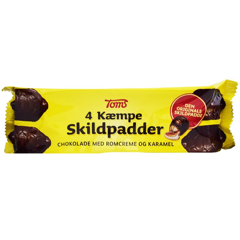 "Choklad ""Sköldpaddor"" 112g - 33% rabatt"
