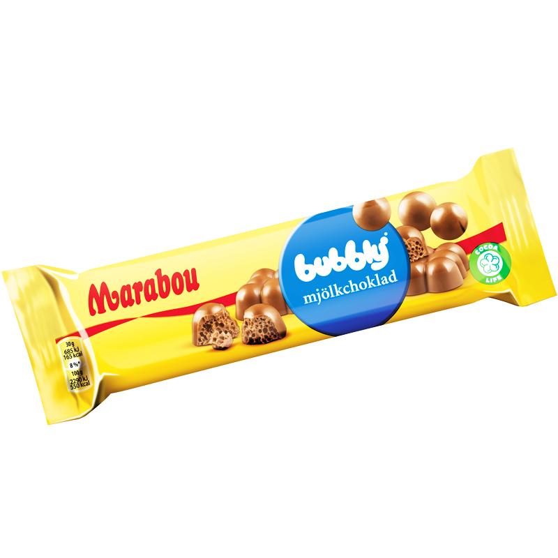 Suklaapatukka Bubbly - 2% alennus