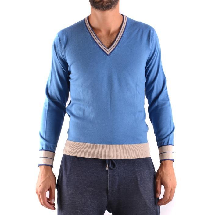 Ballantyne Men's Sweater Blue 160862 - blue 42