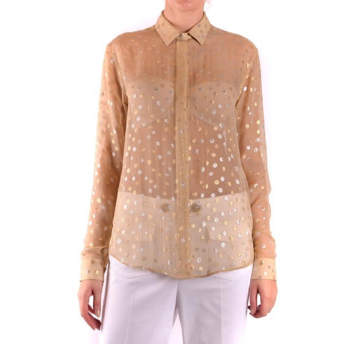 Saint Laurent Women's Shirt Black 164484 - beige 38