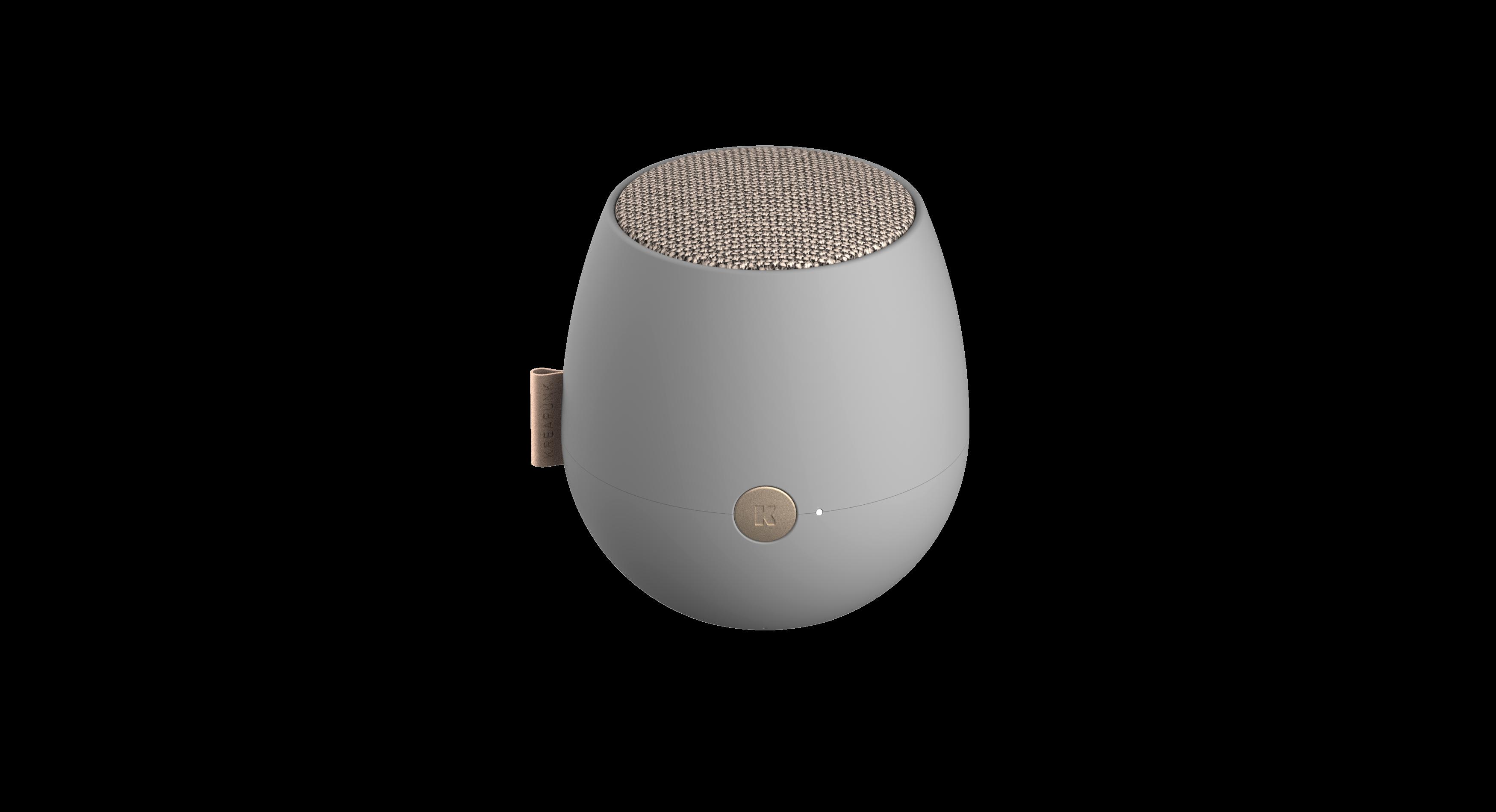 Kreafunk - aJAZZ Bluetooth Speaker - Cool Grey (KFWT64)