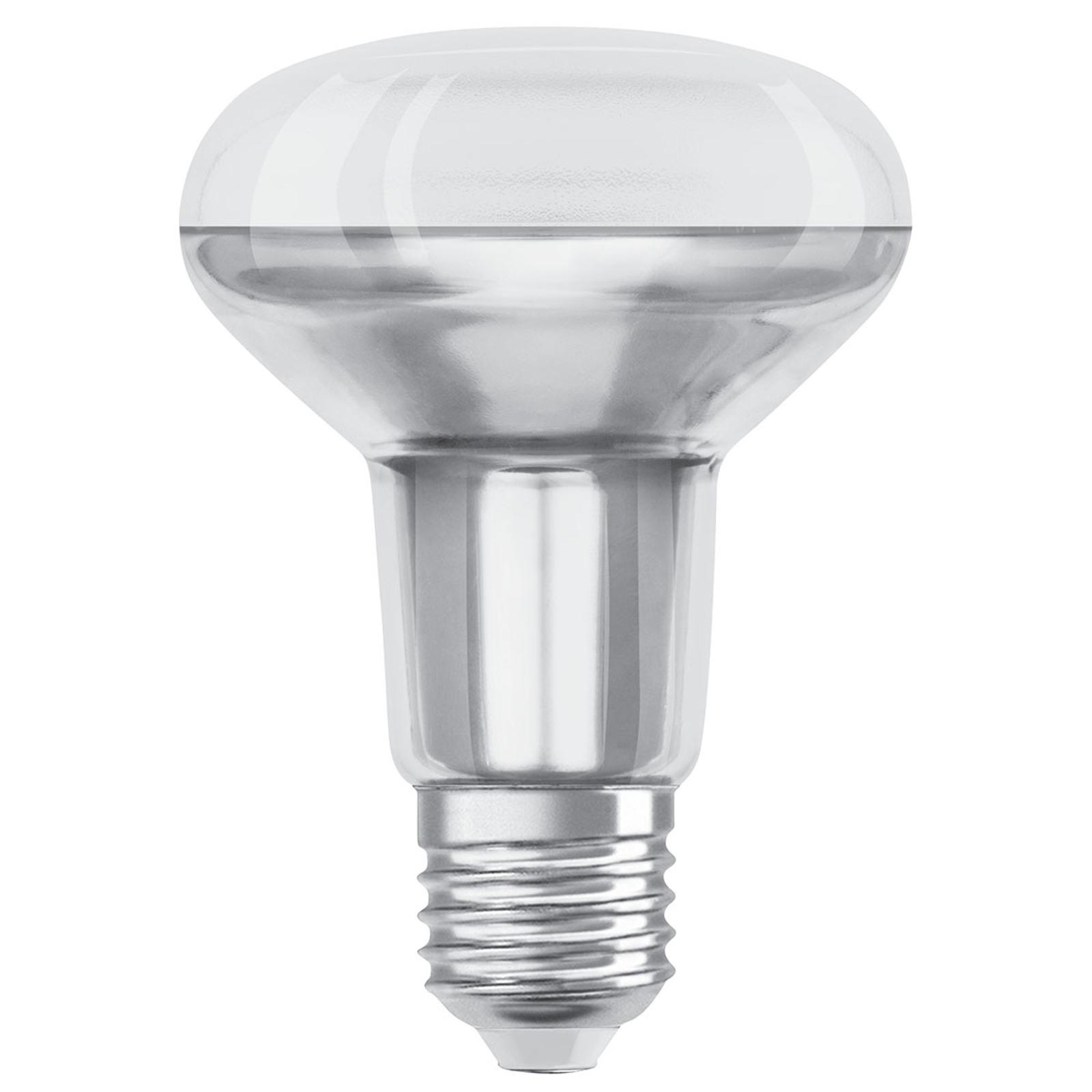 OSRAM-LED-heljastin E27 R80 9,1W 36°