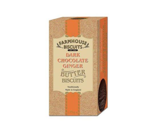 Smörkakor Mörk Choklad & Ingefära 175g - 80% rabatt