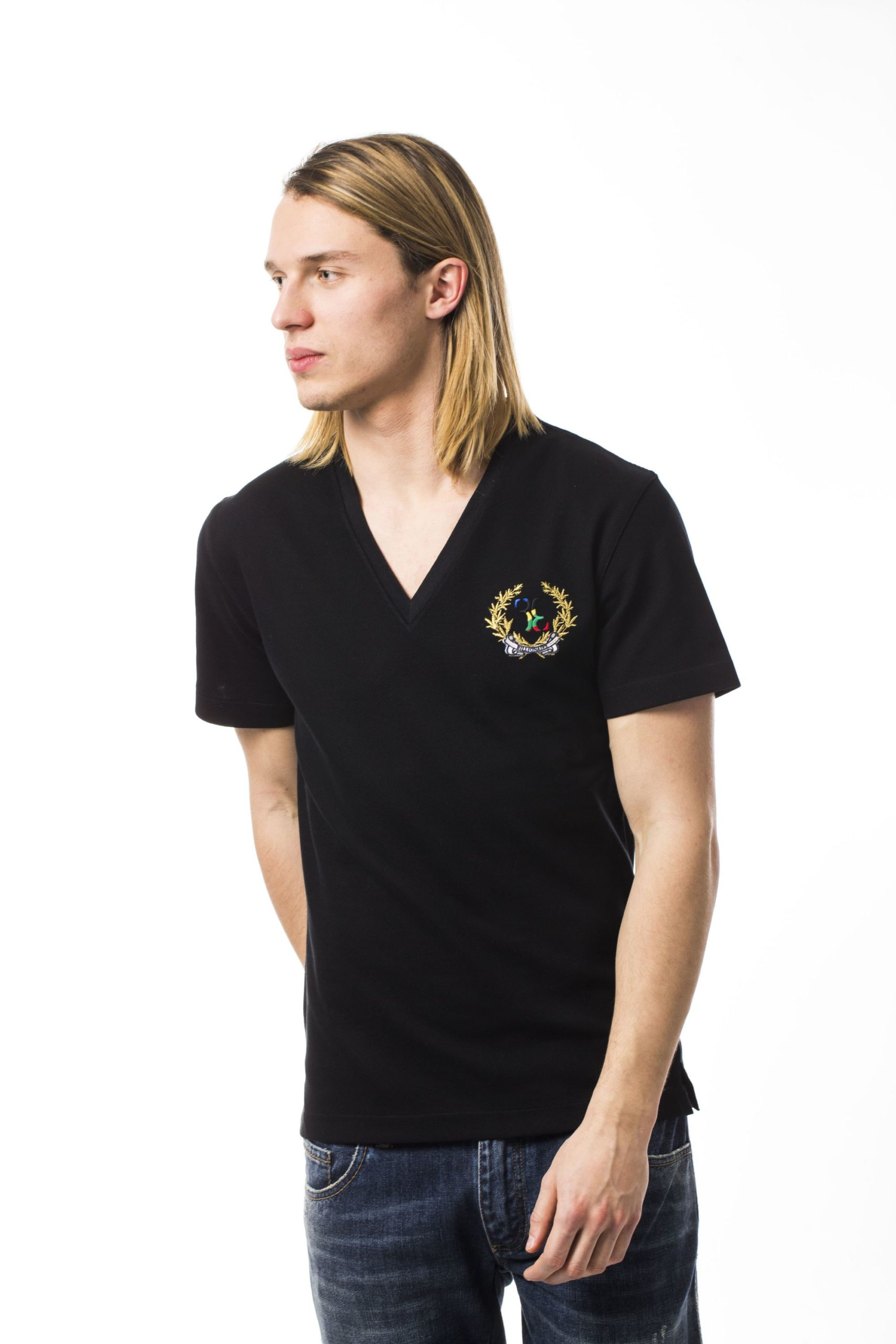 Billionaire Italian Couture Men's T-Shirt Black BI680663 - XXS
